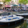 Tourists in City of Delft, the Netherlands. — Stock Photo #82887082