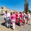 Tourists in City of Delft the Netherlands. — Stock Photo #82887172