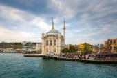 Ortaköy Camii İstanbul, Türkiye — Stok fotoğraf