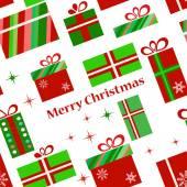 Presenta un patrón para el tiempo de navidad — Foto de Stock
