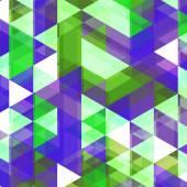 Beautiful Triangle Vector Background — Vector de stock