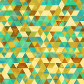Beautiful Triangle Vector Background — Stock Vector