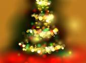 Chrismas tree — Stock Vector