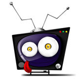 Crazy television — Stock Vector