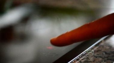 增加的消防力量的手指我 — 图库视频影像
