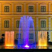 Musical fountain — Stock Photo