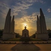 Democracy Monument of Thailand — Stock Photo