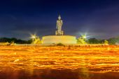 Buddhist park in  Phutthamonthon district — Stock Photo