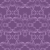 Abstract Purple seamless pattern — Vettoriale Stock