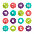 Flat Application Icons Set — Stock Vector #55477751
