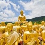Thai Golden Buddha Statue. Buddha Statue in Thailand — Stock Photo #53465247
