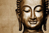 Statue of Buddha space for your text — Stock Photo