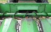 Metal screw conveyor helix  — Stock Photo
