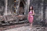 Female in Thai traditional dress  — ストック写真