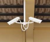 Caméra de sécurité ou de vidéosurveillance — Photo
