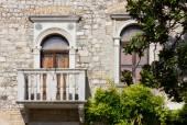 Yttervägg i ett historiskt palats — Stockfoto