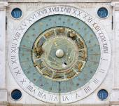 Astronomical Clock in the Piazza dei Signori in Padua — Stock Photo