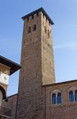 Torre degli Anziani in Padua — Stock Photo