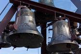 Decorated Bronze Bells — Stock fotografie