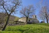 Old Little Church on the Slovenian Karst — Stock Photo