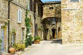 The ancient Italian town of Murlo — Foto Stock