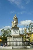 Statue of the Grand Duke Pietro Leopoldo — Stock Photo