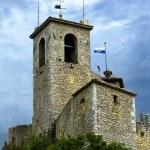 Fortress della Rocca Guaita in San Marino — Stock Photo #55277083