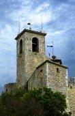 Fortress della Rocca Guaita in San Marino — Stockfoto