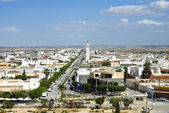 El Djem is a town in Tunisia, Mahdia governorate — Stock Photo