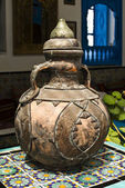 Vintage jug in the house of the mufti — Stock Photo