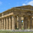 Greek temple of Neptune - Paestum Italy — Stock Photo #57849591