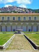 Certosa di S. Lorenzo at Padula - Italy — Stock Photo