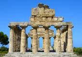 Greek temple of Cecere- Paestum Italy — Fotografia Stock