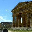 Stately greek temple of Neptune - Paestum, Italy — Stock Photo #70990753