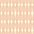 Abstract seamless ethnic pattern. — Stock Vector