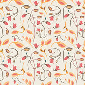 Seamless summer tiny floral pattern — ストックベクタ