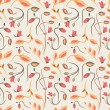 Seamless summer tiny floral pattern — Vector de stock  #57736667