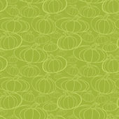 Pumpkin seamless vector pattern. — Stockvector