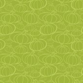 Pumpkin seamless vector pattern. — Stockvektor