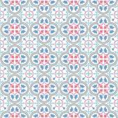 Inconsútil adornos coloridos azulejos — Vector de stock