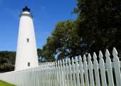 Ocracoke lighthouse — Stock Photo
