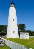 Ocracoke Lighthouse — Stockfoto