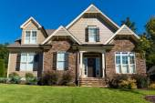 Large suburban house — Stock Photo