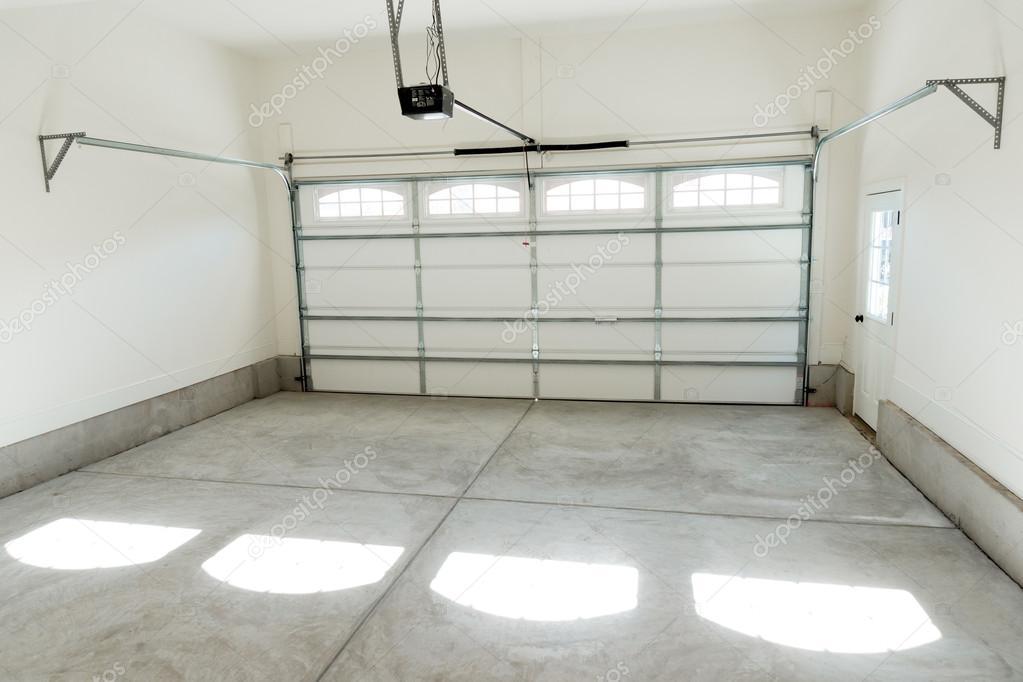 Two Car Garage Interior Stock Photo Kzlobastov 54852047