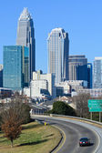 View on Uptown Charlotte, NC — Stock Photo