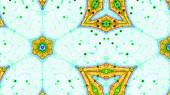 Fractal Kaleidoscopic Pattern — Stock Photo
