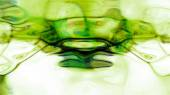 Green Fluid Abstraction — Stock Photo
