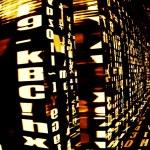 Futuristic Data Technology — Stock Photo #67668739