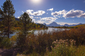 Grand Tetons Lake — Stock Photo