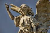 Vibrant Stone Angel — Stock Photo